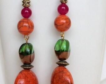 Simply adorable fall earrings