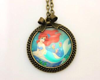 Necklace Ariel the little mermaid 2525C