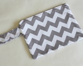 Custom order for Mary: Bunting Flags Nappy Pouch