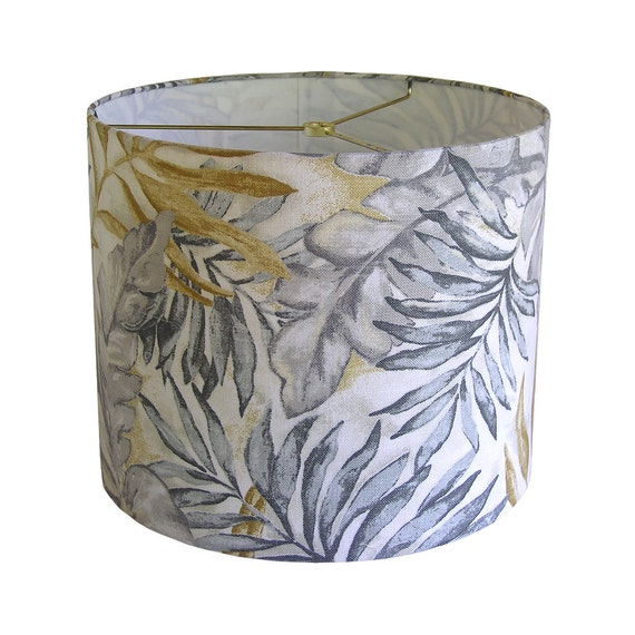Lamp Shade Lampshade Pendant Monsoon Leaf By Robert Allen At