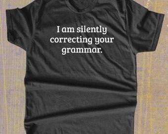 Grammar Nerd T Shirt