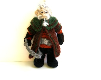 Dori Dwarf Crochet Doll Tolkien The Hobbit