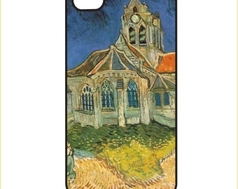 Van Gogh - Church at Auvers-sur-Oise - iPhone / Android Phone Case / Cover - iPhone 4 / 4s, 5 / 5s, 6 / 6 Plus, Samsung Galaxy s4, s5