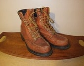 Vintage Red Wing 404 work boots Size 9 b mens USA made NICE SHAPE