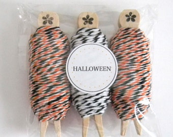 Bakers Twine Halloween 3 pack - Divine Twine