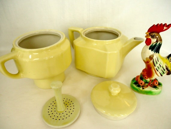Folgers One Cup Coffee Maker : Vintage FOLGERS AUTOMATIC DRIP Coffee Maker Butter Yellow