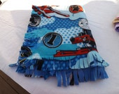 Thomas the Train blanket,Fleece blankets,Fleece throws ,daycare naps,For youth bed,Boys gifts,Double fleece