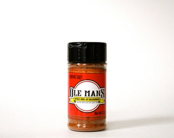 Ole Man's Spice Rub & Seasoning - Original Blend 2 oz.-Free Shipping