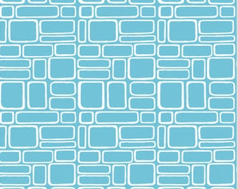 Brick Walls from Modern Home by Monaluna Organics 1 Yard Cut