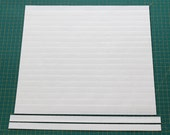 "Size 3/4""(16""W x 20""L) Mr. Pleater Board, pleats fabric, fast and easy."