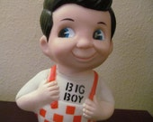 VALENTINESALE Vintage Big Boy Bank From 1973