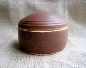 Small Brown Chopstick Box