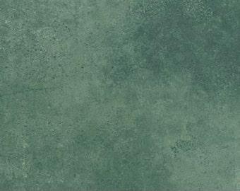 Stonehedge Gold Leaf by Northcott Fabrics 3953-64 Blue  1 yard