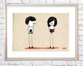 postcards - liulai in love-