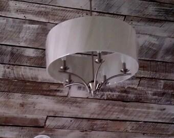 Reclaimed barn wood ceilings