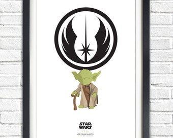 Star Wars - Solo Series - Yoda - 19x13 Poster