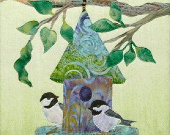 McKenna Ryan, Roomies Quilt Pattern, Home Tweet Home Series, Quilting, DIY, Birds