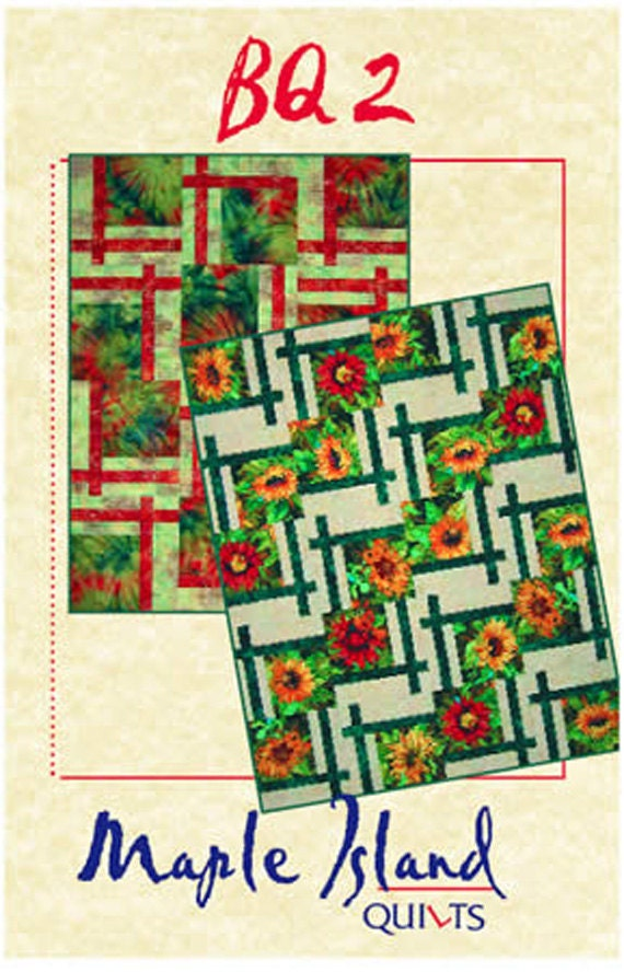 BQ2 Quilt Pattern Maple Island Quilts DIY Quilting Sewing