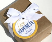 Wedding Favor Tags - LOVE AND HAPPINESS Printable