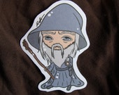 Adorable Gandalf Sticker, Lord of the Rings, The Hobbit