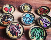 Bioshock Infinite Vigor Button Set