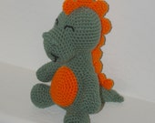 Plush Dinosaur - Handmade Crochet Stuffed Animal