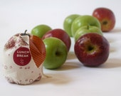 Lunch Pack - Reusable Snack Bags, apple design