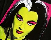 Yvonne DeCarlo Lily Munster Standard Print