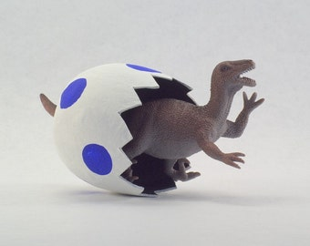 What every dinosaur room needs...a hatching dinosaur.