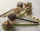 OCEAN SEASHORE TREASURES Bobby Pins by Juste Jolie