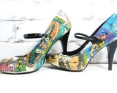"Comic Book Heels. Wolverine. Listen ""BUB"", I'm Talking to You. Wedding Day. Birthday. Girls Nite/Date Nite. Concert. Convention."