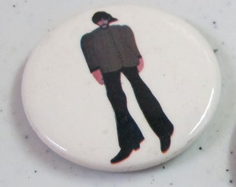 Vintage Collectible button : beatles yellow submarine george