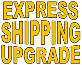 Upgrade to Express Shipping to Receive Your Purchase (up to 500gr) 5x Faster