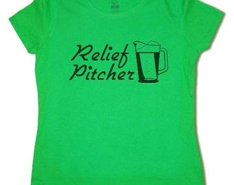 Ladies t-shirt / Relief Pitcher