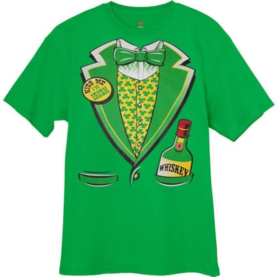 funny st patricks day shirts / Irish tuxedo