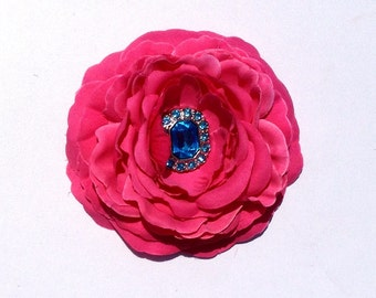 Layered Flower Clip | Ranni Flower Headband | Shabby Chic Flower Clip | Ranni Flower Clip