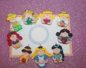 Everyday princess collection charms/hairbow centres