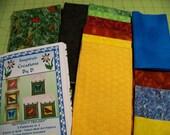 BUTTERFLY TRILOGY Art Quilt Pattern Kit