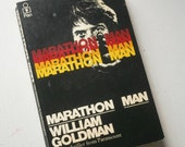 Vintage book Marathon Man by William Goldman