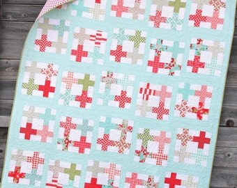 Cluck Cluck Sew Tea Party Quilt Pattern