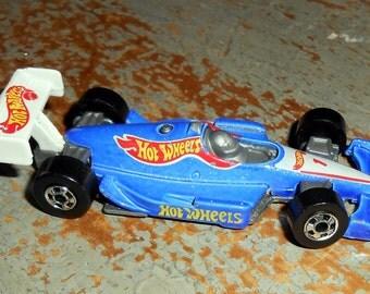 Vintage Toys, Hot Wheels, Good Year, Blue, Race Car, 1992