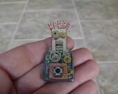 cyberpunk pendant/pin