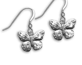 SS Butterfly Earrings