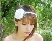 White Camelia Flower Halo,Flower crown, Rustic wedding accessories, woodland headpiece,Bridal headpiece, head wreath,bridal hair circlet