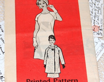 1960s Anne Adams Pattern - 4965 - Size 16 1/2 - Cut Complete