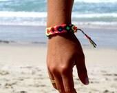 Friendship Bracelet. Hot Neons