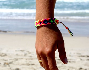 Friendship Bracelet. Hot Neons