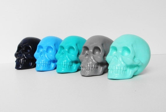 Skull Sculpture Set