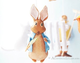 Peter Rabbit Baby Mobile No.1- Story Mobile by A Continual Lullaby