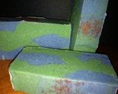 Palo Santo & Cedarwood Soap - Cold-process - approx oz